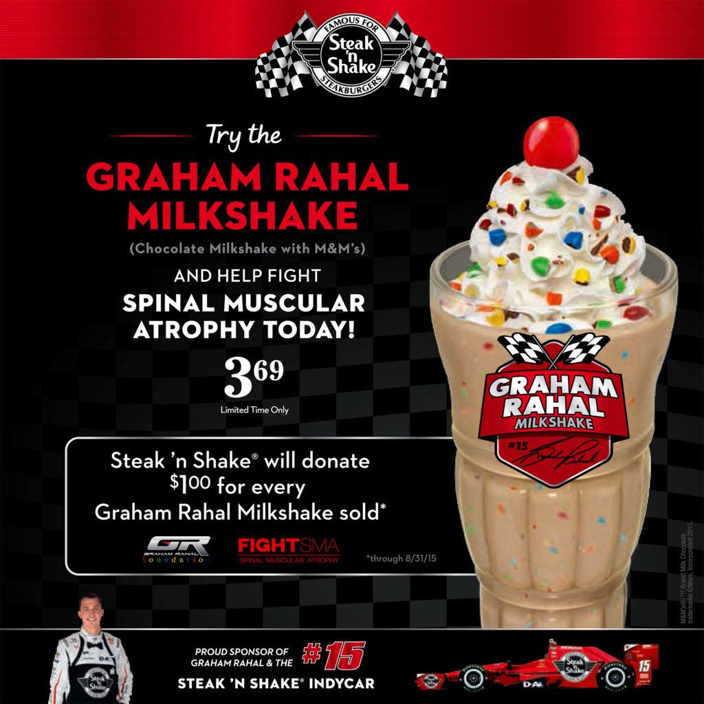 Graham Rahal Milkshake