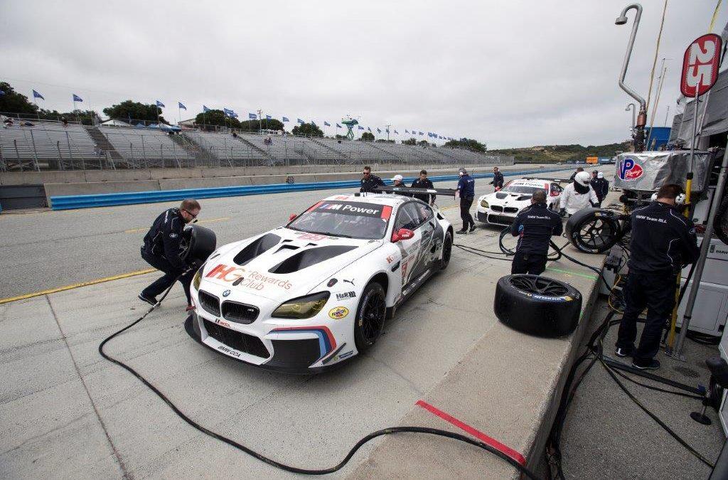 BMW Team RLL - Continental Monterey Grand Prix Post Race - Rahal ...