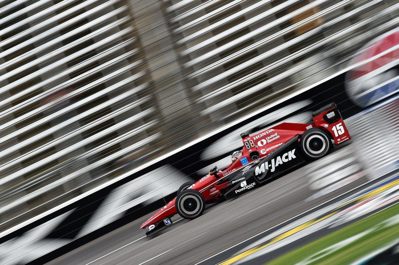 Rahal Finished Fourth in an Action-Packed Rainguard Water Sealers 600 at Texas Motor Speedway After Clearing Many Crashes