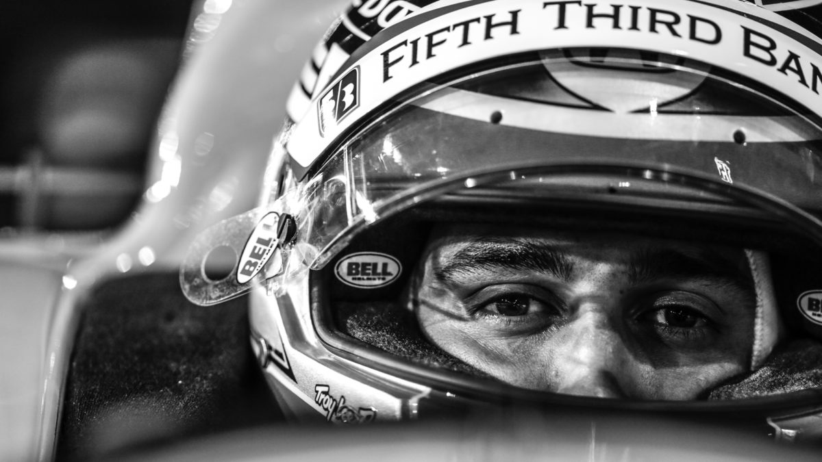 Graham Rahal Makes Pit Stop To Volunteer On Fifth Third Day Rahal