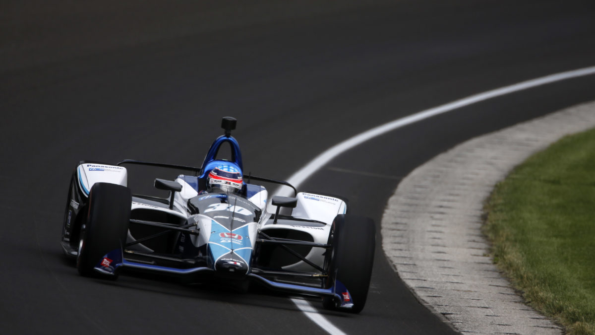 How Many Laps In Indy 500 >> Rahal Sato And Servia Turned Many Laps On Opening Day For The 102nd
