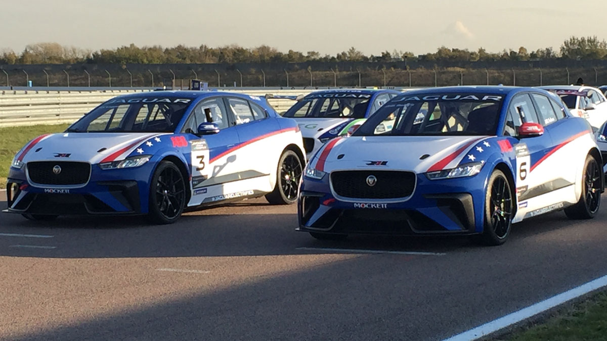 Rll Makes Its Electric Racing Debut In Saay S Jaguar I Pace Etrophy Opener Saudi Arabia Rahal Letterman Lanigan