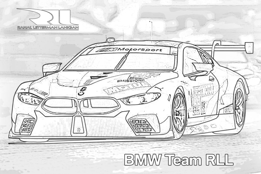 BMW Team RLL Coloring_1
